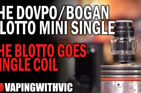The Blotto Mini Single by DovPo and Bogan  – The Blotto hits the single coil market