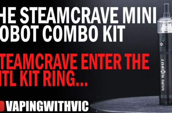 The SteamCrave Mini Robot Combo Kit – SteamCrave enter the MTL kit market