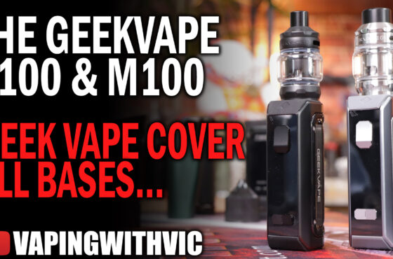The M100 and S100 from GeekVape – GV target both sides of the intermediate market.