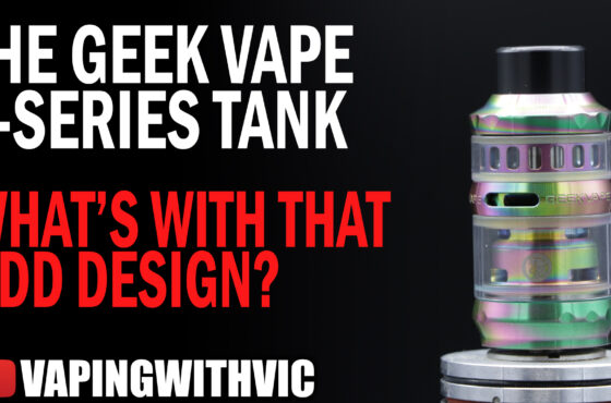 The GeekVape P Series SubOhm Tank – Well, thats an odd look…