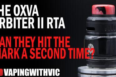 OXVA Arbiter 2 – Can OXVA hit the mark a second time?