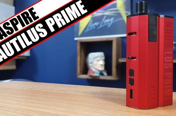Aspire Nautilus Prime – A new AIO with the classic Nautilus coil.