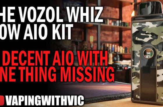 The Vozol Whiz 80 – Decent medium AIO