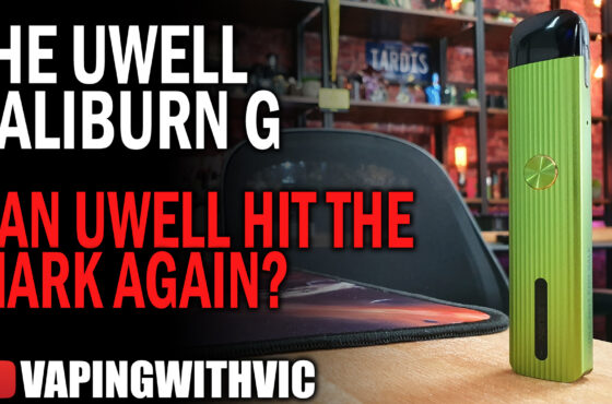 UWell Caliburn G – Can UWell do it a second time?