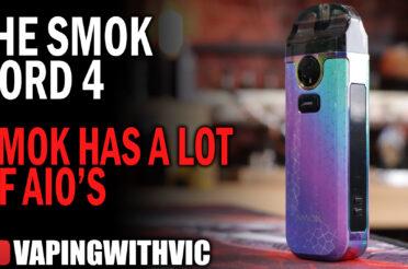 The Nord V4 by SMOK – Soooo many SMOK AIO's….