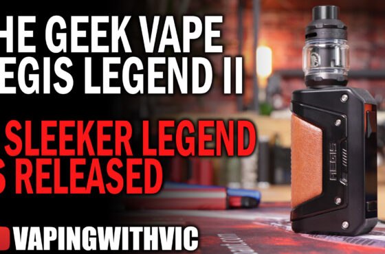 The Aegis Legend 2 Kit by Geek Vape – The Aegis goes down a new road