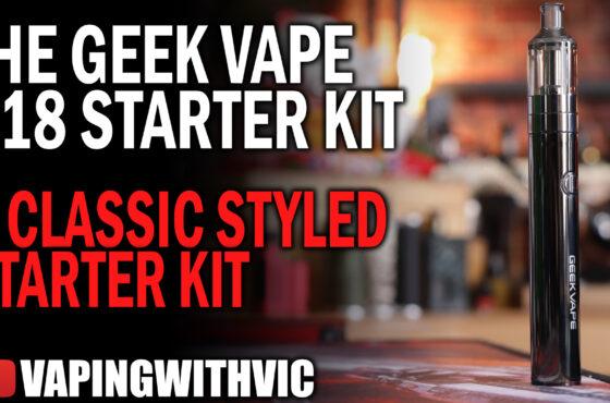 The Geek Vape G18 Starter Kit – A blast from the past…
