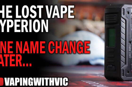 The Lost Vape Hyperion – Name change, but still the Scutum