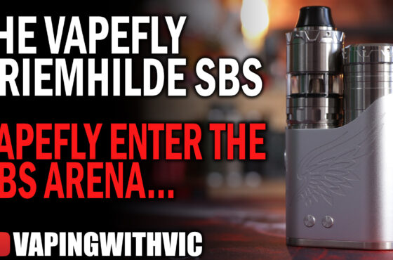 Vapefly Brunhilde (or Kreimhilde II) SBS Kit – Vapefly drops the mic and walks off the stage