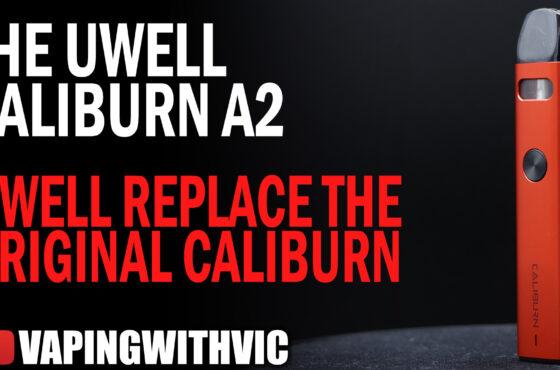 The UWell Caliburn A2 – The successor to the original Caliburn