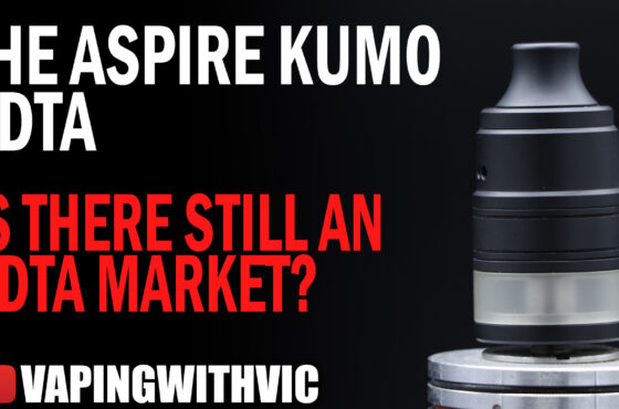 The Aspire Kumo RDTA – Is the RDTA market still active?